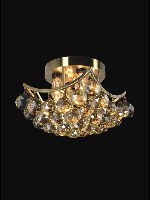 4 Light Crystal Flushmount