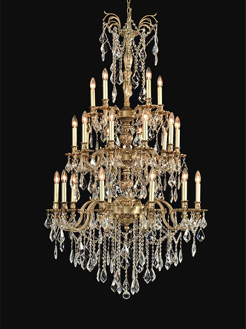 25 Light Crystal Chandelier