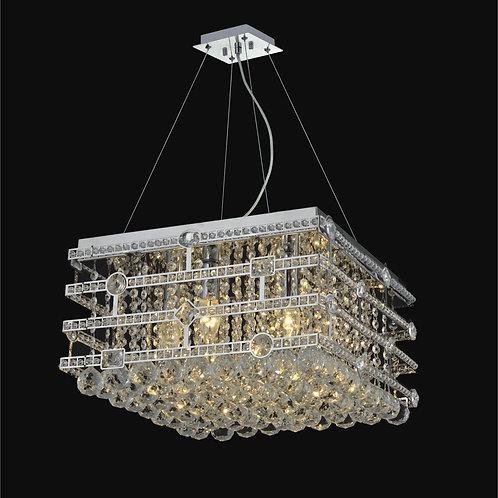 6 Light Crystal Pendant Chandelier