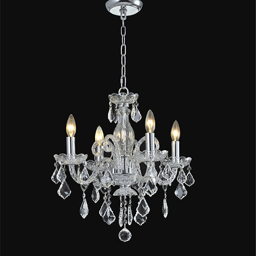 4 Light  Crystal  chandelier