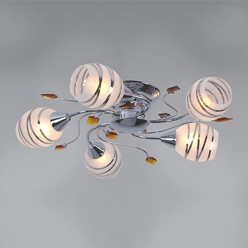 5 Light Flushmount,