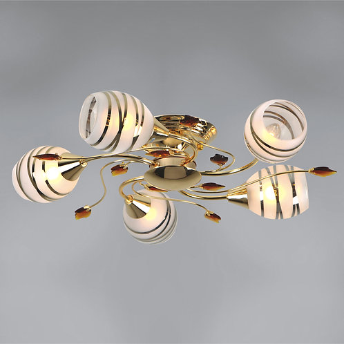 5 Light Flushmount