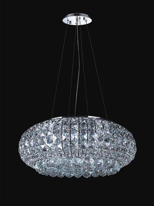12 Light Crystal Pendant Chandelie