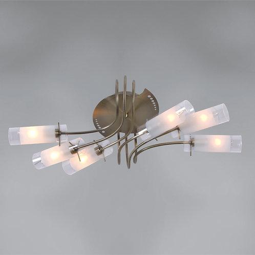 6 Light Ceiling Mount,