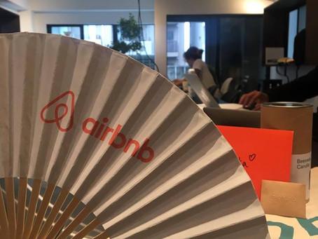 Airbnbよりご招待、そして登壇。