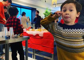 メンバーもファミリーも参加してのfactoriaクリスマスパーティー開催