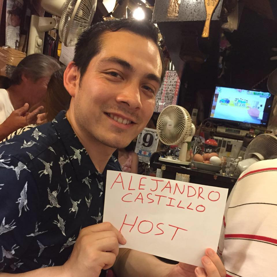 Alejandro, Airbnb Experience host in Tokyo