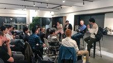 Digital Marketing Leaders of Japan's Secret Meet Up at Co-Working Space in Tokyo