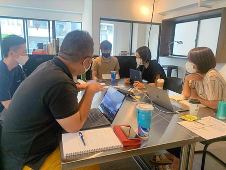 【factoria_事業戦略研究会】メンバー6名による事業戦略研究会の第1回目を開催
