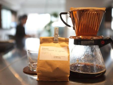 西荻窪・豆の木さんにてコーヒーの淹れ方・効果効能を学ぶ。