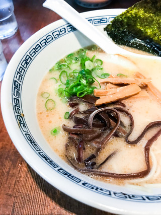 Ramen, the weekend lunch choice at Nishiogikubo