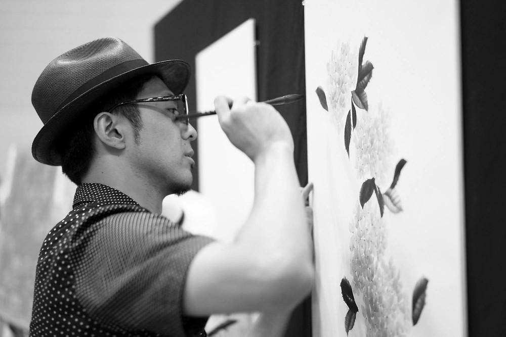 Yosuke Sakai, freelance developer, Suibokuga Artist