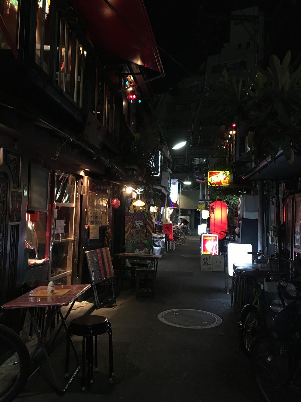 中央線,西荻,西荻窪,横丁,タイ料理,ハンサム食堂,アジア料理