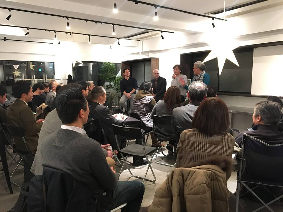 Israel x Digital Marketing, co-working community and space factoria, Tokyo