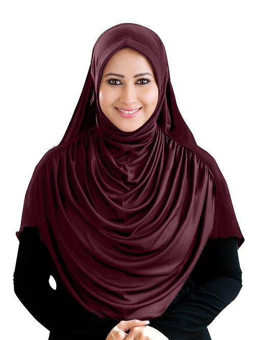 Modest Women's Designed Fleeted Stylish Feel Good Fabric FAEEZAH  HIJAB VINE