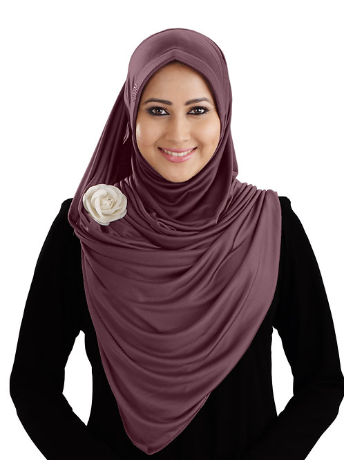 Modest Women's stylish  Soft feel good fabric AnarkaIi Hijab Coffee