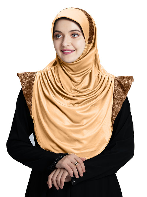 Modest Fashion Women's Soft feel good Fabric Naaz Hijab Skin