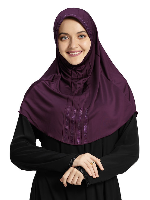 Modest Fashion Women's Soft feel good Fabric Manal Hijab Vine