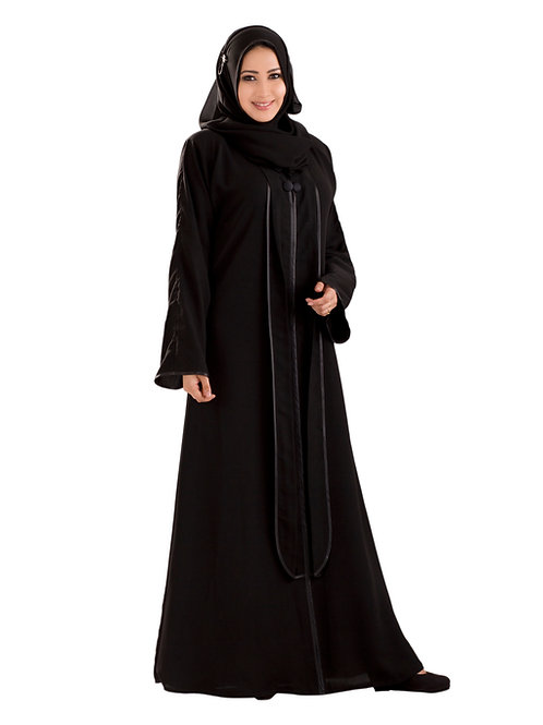 Women's Modestly Stylish Look Classy and elegant Princess Cut Benazir Abaya
