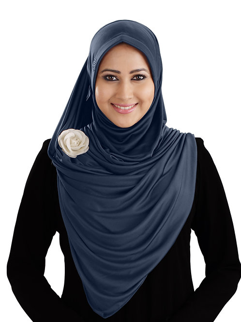 Modest Women's stylish  Soft feel good fabric AnarkaIi Hijab  Grey