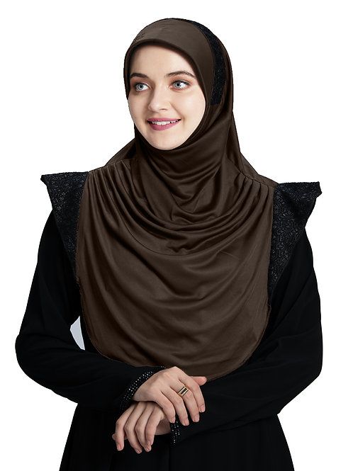 Modest Fashion Women's Soft feel good Fabric Naaz Hijab Formal Grey
