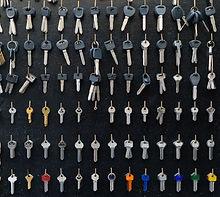 anahtar yönetimi için dolap ve kutular