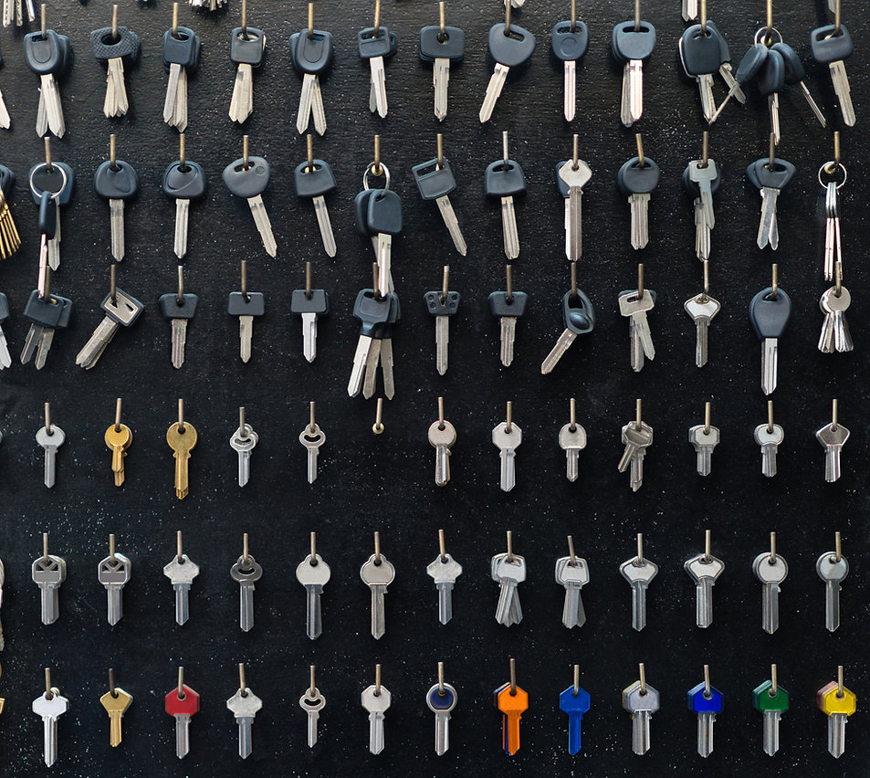 壁一面の鍵