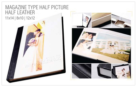 1_Magazine Type Half Picture Half Leathe