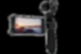 DJI OSMO, es un excelente estabilizador de mano capaz de filmar en 4K
