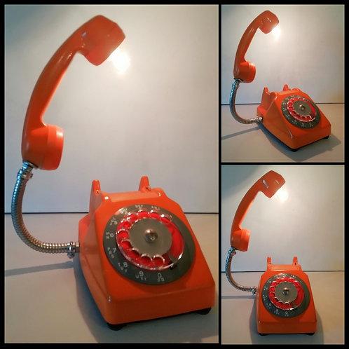 Lampe Collection Gaston, Inspiration Socotel orange