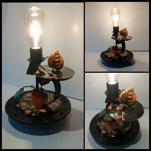 Lampe Black Florale