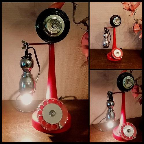 Lampe inspiration Téléphone à colonne 1920