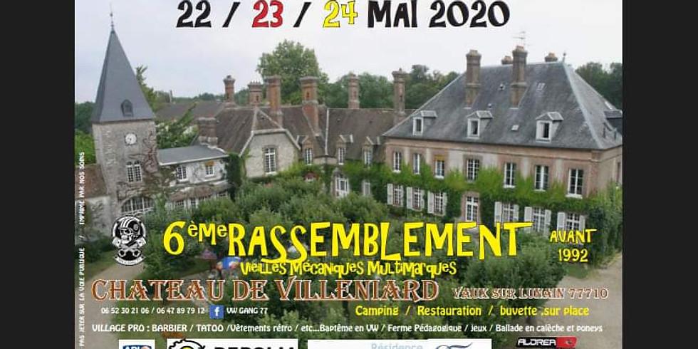 Création & Lumière expose :  Rassemblement VW  Gang 77 - Parc du Château de Villeniard