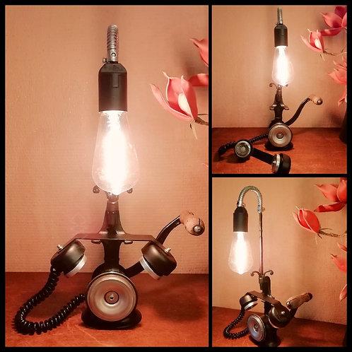 Lampe inspiration Téléphone Rétro