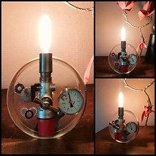 Lampe Résine Alchimiste