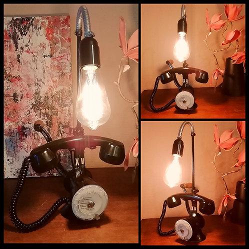 Lampe Téléphone esprit Vintage