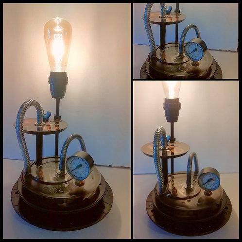 Lampe Méca Steam résine