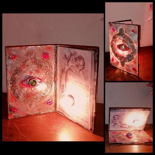 Lampe style Livre Alice