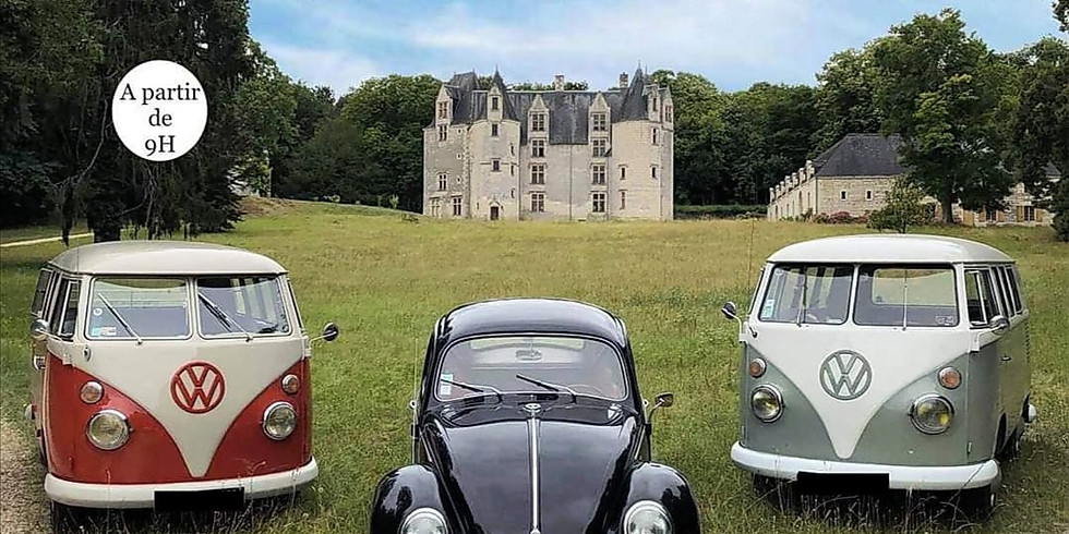 Création & Lumière expose : Meeting VW Castle Party