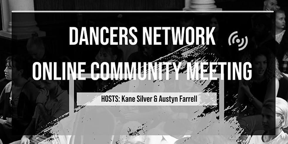 Dancers Network Online Community Meeting