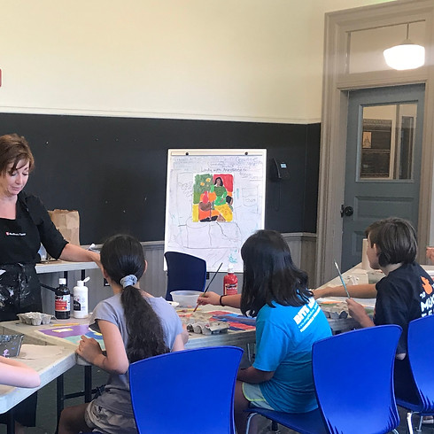 Art for Kids: Grades 1-4 With Kathy Dunn Session F1
