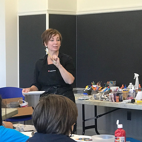 Art for Teens: Grades 7-12 With Kathy Dunn Session F1