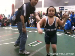 Baby Alec wrestling 5 years old
