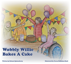 Wobbly Willie Bakes A Cake by Richard Qu