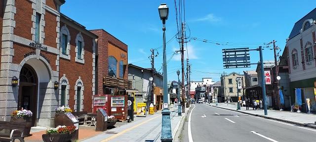 小樽観光の定番、堺町商店街も歩きます♪