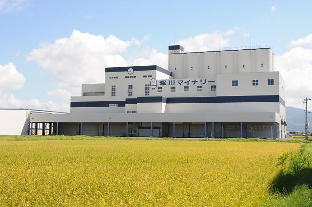 深川マイナリー -穀物乾燥調製貯蔵施設-(写真:深川市提供)