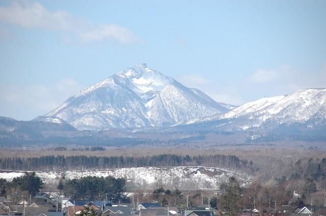 恵庭岳(写真:恵庭市提供)