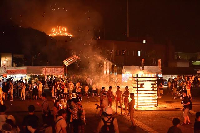 火まつり(写真:赤平市提供)