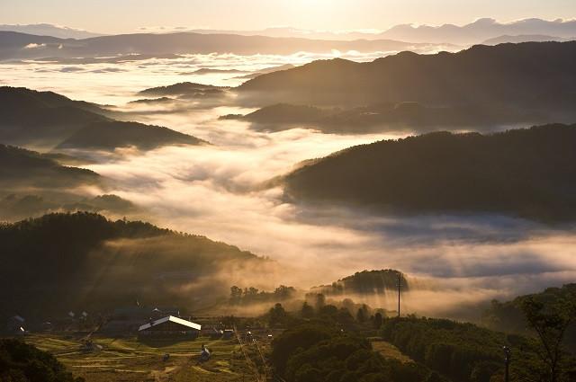 かもい岳からの雲海(写真:歌志内市提供)