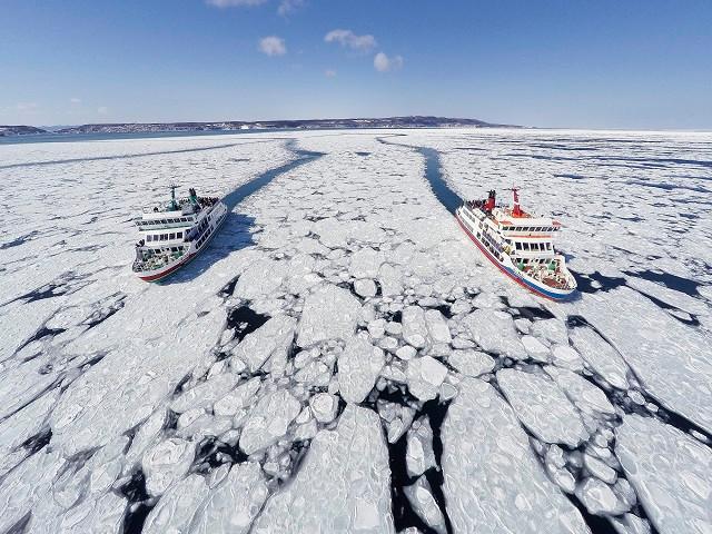流氷観光砕氷船おーろら(写真:網走市提供)